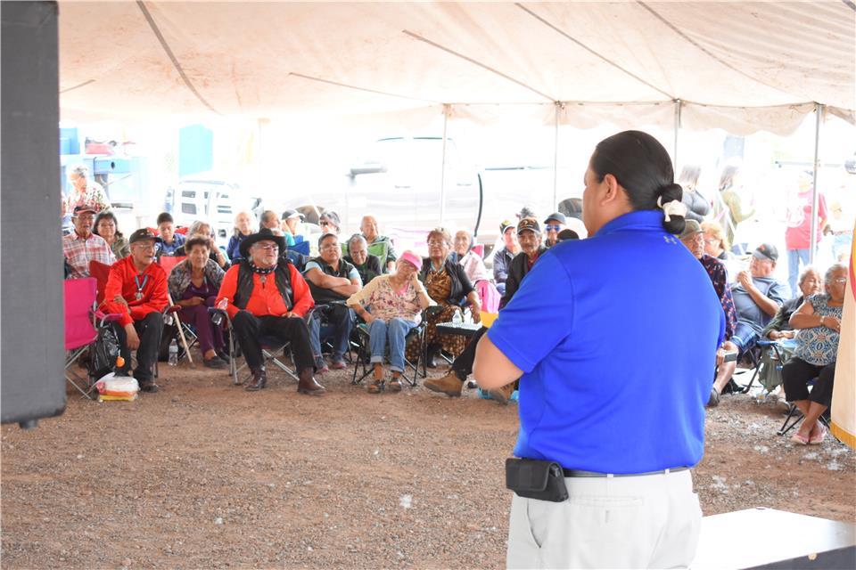 Fort Defiance Chapter Elder Day